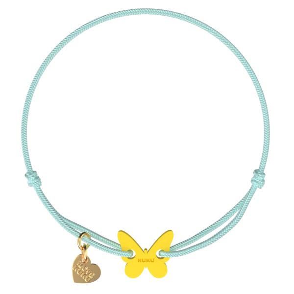 NARUKU - BUTTERFLY - Babyblue-Yellow