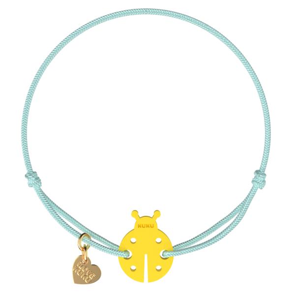 NARUKU - LADYBUG - Babyblue-Yellow