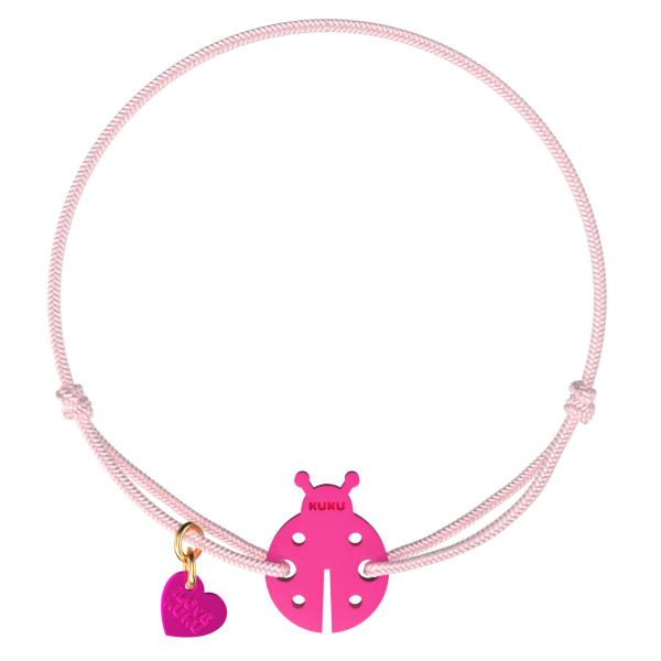 NARUKU - LADYBUG - Babypink-Pink