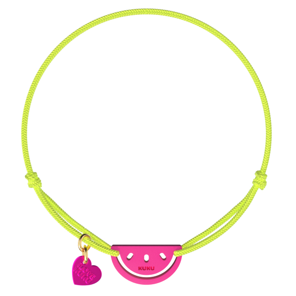 NARUKU - WATERMELON - NeonYellow-Pink