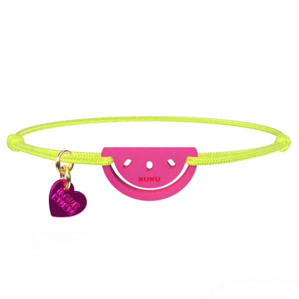 NARUKU - WATERMELON - NeonYellow-Pink