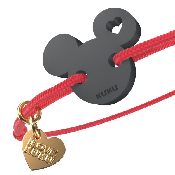 NARUKU - MICKEY LOVE - Red-Black