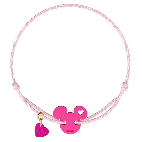 NARUKU - MICKEY LOVE - Babypink-Pink