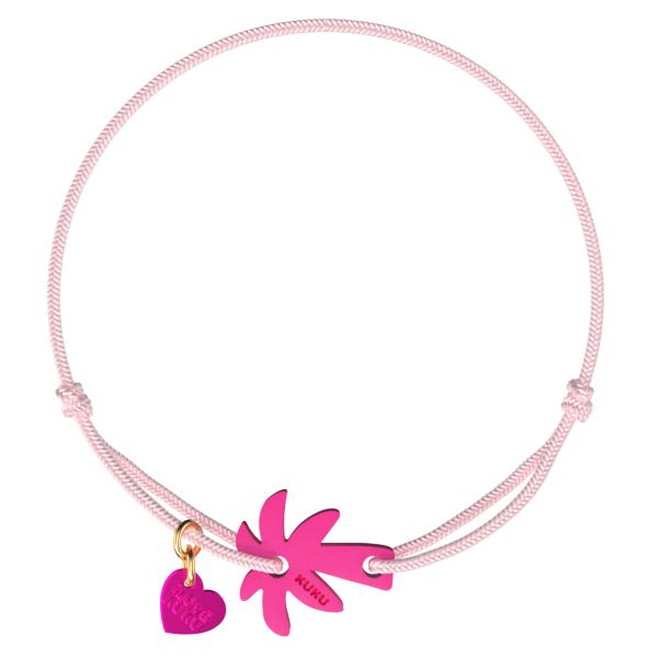 NARUKU - PALM TREE - Babypink-Pink
