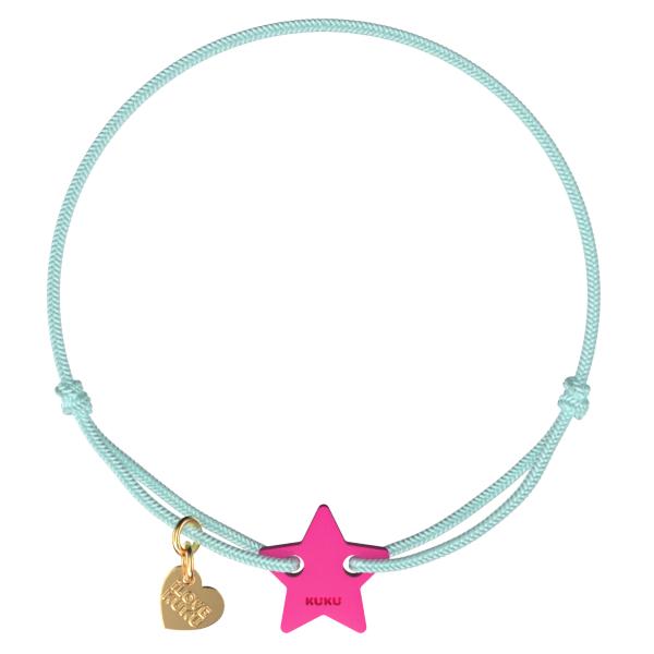 NARUKU - STAR - Babyblue-Pink