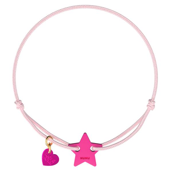NARUKU - STAR - Babypink-Pink