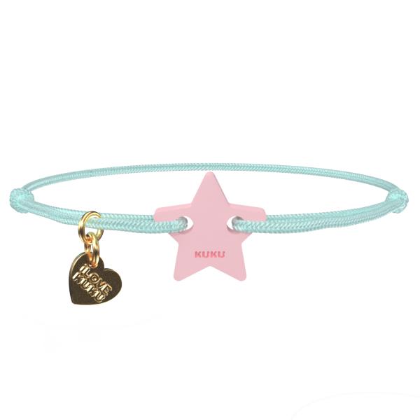 NARUKU - STAR - Babyblue-Babypink