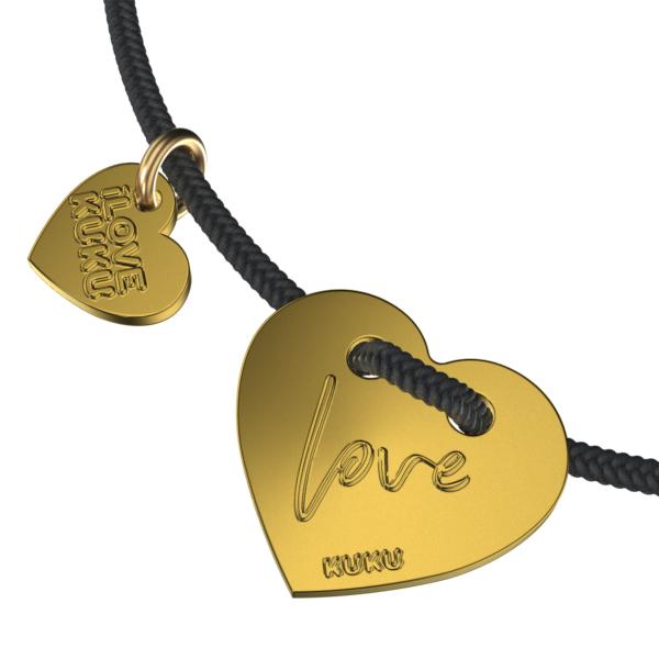 WORD - LOVE: Black-Gold