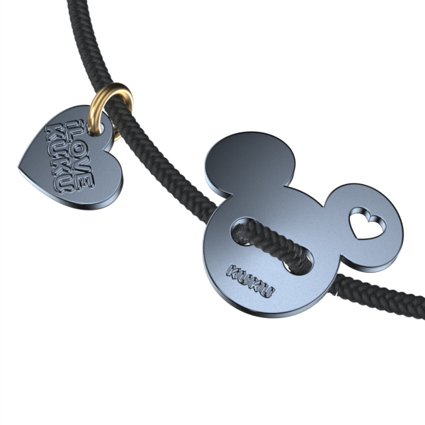 MINI - MICKEY: Black-Space Grey