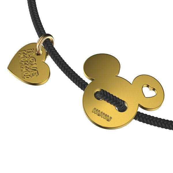 MINI - MICKEY: Black-Gold