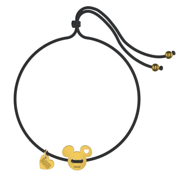 MINI - MICKEY: Black-Gold